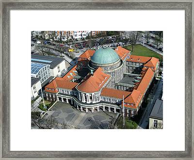 Hamburg Library Framed Print by Mountain Dreams