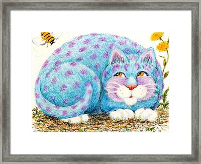 Hamlet  To Bee Or Not To Bee... Framed Print by Dee Davis