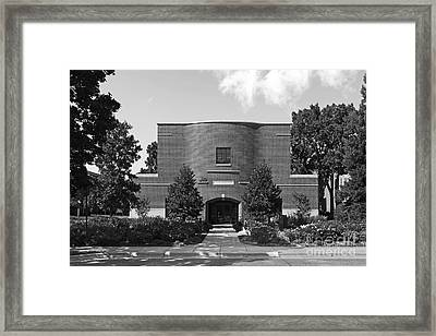 Hamline University Sundin Music Hall Framed Print by University Icons