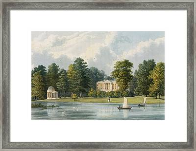 Hampton House Framed Print by William Westall