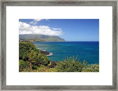 Hanalei Bay Framed Print by Bob Hislop