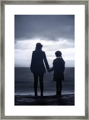 Hand In Hand Through Life Framed Print by Joana Kruse