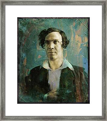 Handsome Fellow 1 Framed Print by James W Johnson