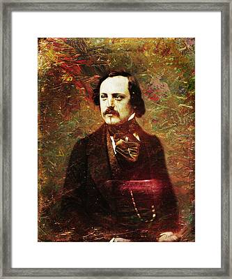 Handsome Fellow 5 Framed Print by James W Johnson