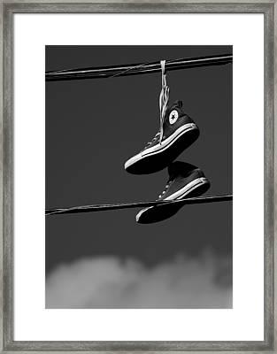 Hang Ten Framed Print by Steven Milner