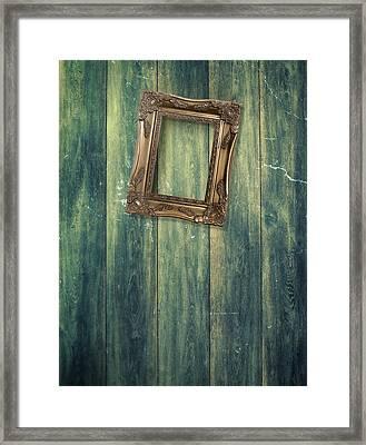 Hanging Frame Framed Print by Amanda Elwell