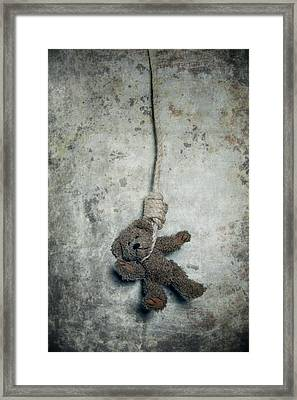 Hanging On The Gallows Framed Print by Joana Kruse