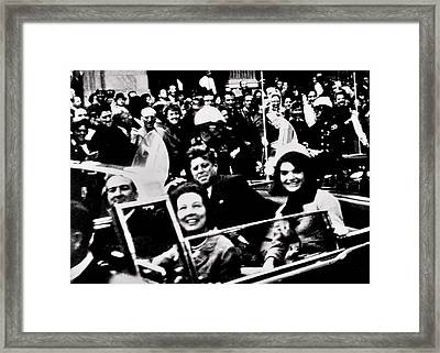 Happier Times Framed Print by Benjamin Yeager