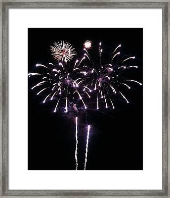 Happy 4th Framed Print by Andrew  Stoffel