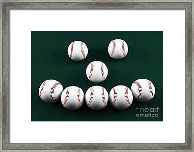 Happy Balls Framed Print by John Rizzuto