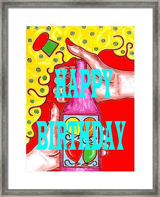 Happy Birthday 1 Framed Print by Patrick J Murphy