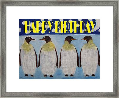 Happy Birthday 15 Framed Print by Patrick J Murphy