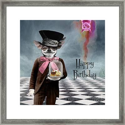 Happy Birthday Framed Print by Juli Scalzi