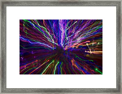 Happy Fourth Framed Print by Penny Lisowski