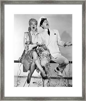 Happy Go Lucky, From Left, Betty Framed Print by Everett