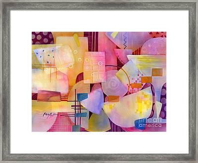 Happy Hour Framed Print by Hailey E Herrera