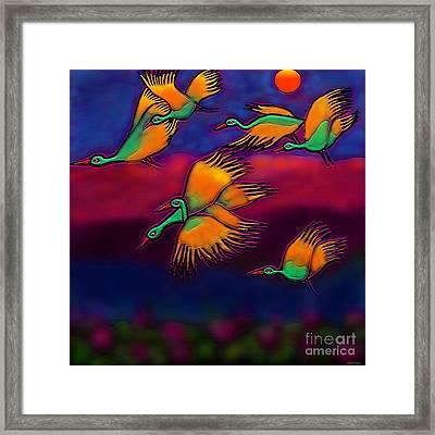 Happy Journey Framed Print by Latha Gokuldas Panicker