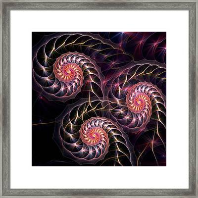 Happy Lights Framed Print by Anastasiya Malakhova