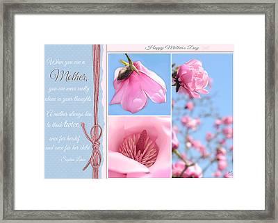 Happy Mother's Day Framed Print by Lisa Knechtel