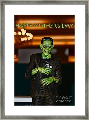 Happy Mother's Day Framed Print by Paul Ward