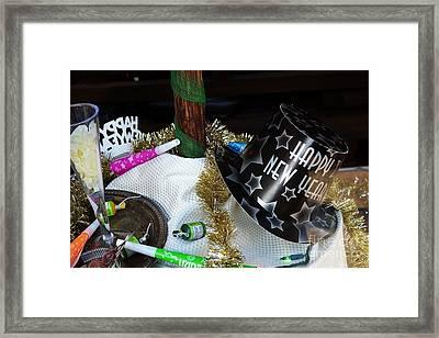 Happy New Year Everyone Framed Print by JW Hanley