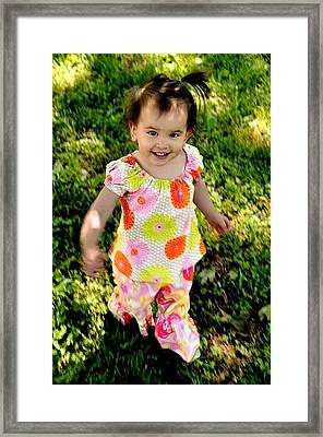 Happy Smiles Fine Art Print Framed Print by Jon Van Gilder