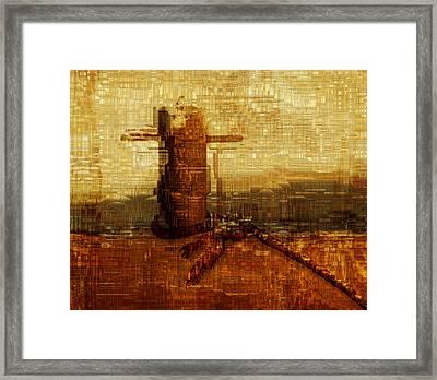 Harbor Framed Print by Jack Zulli