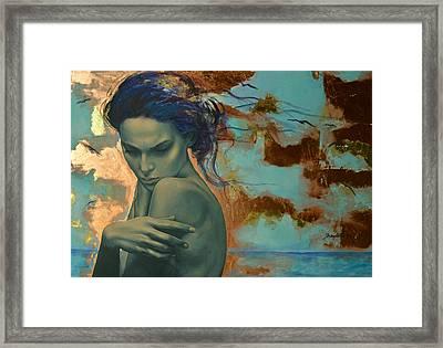 Harboring Dreams Framed Print by Dorina  Costras