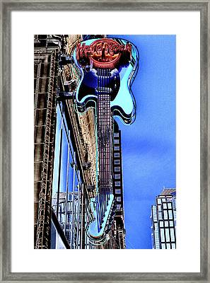 Hard Rock Cafe Seattle Framed Print by David Patterson