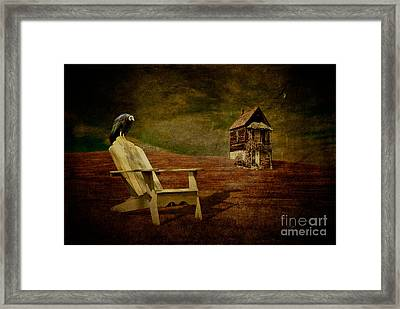 Hard Times Framed Print by Lois Bryan