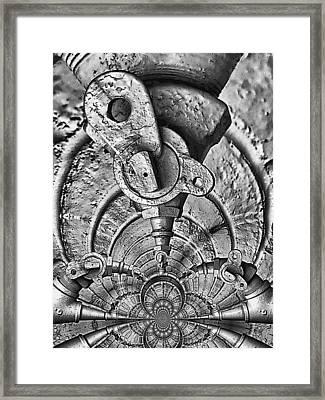 Hardware Symphonette Framed Print by Wendy J St Christopher