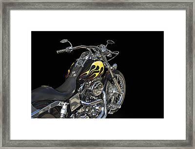 Harley Davidson 4 Studio Framed Print by Dave Koontz
