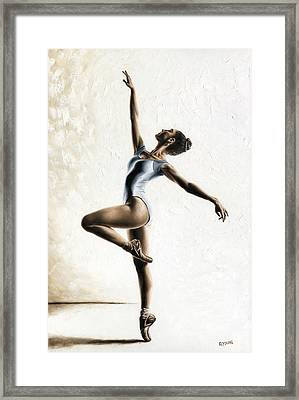 Harmony And Light Framed Print by Richard Young