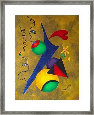 Harmony Framed Print by Pamela Allegretto