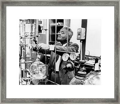Harold Urey Framed Print by Us Department Of Energy