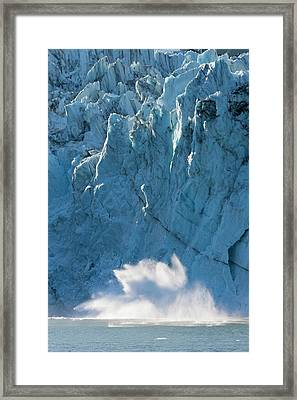 Harriman Fiord, Prince William Sound Framed Print by Hugh Rose