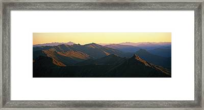 Harris Mountains New Zealand Framed Print by Panoramic Images