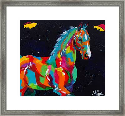 Harris Framed Print by Tracy Miller