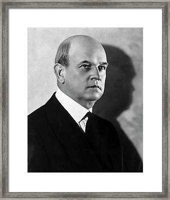 Harry Olson Framed Print by American Philosophical Society