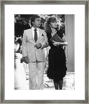 Hart To Hart  Framed Print by Silver Screen
