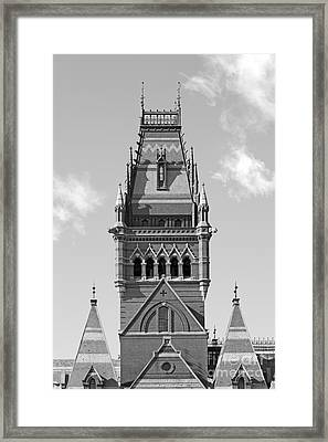 Memorial Hall At Harvard University Framed Print by University Icons