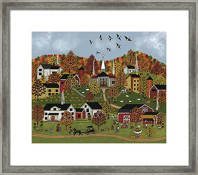 Harvest Celebration II Framed Print by Medana Gabbard