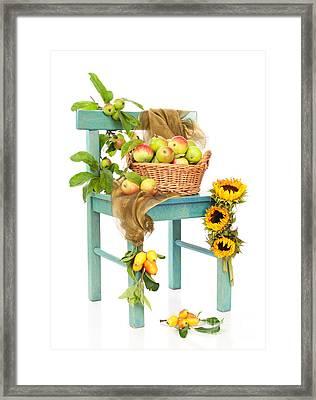 Harvest Fayre Framed Print by Amanda Elwell