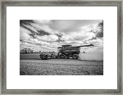Harvest Time Framed Print by Dale Kincaid