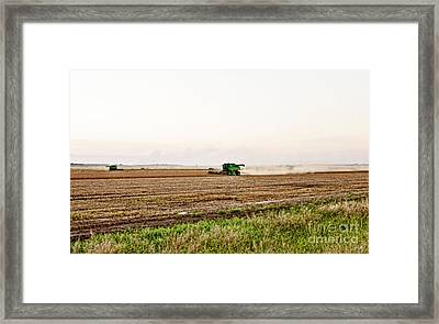Harvest Time Framed Print by Scott Pellegrin
