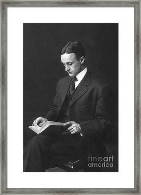 Harvey Cushing (1869-1939) Framed Print by Granger
