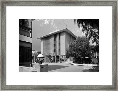 Harvey Mudd College Sprague Memorial Building Framed Print by University Icons