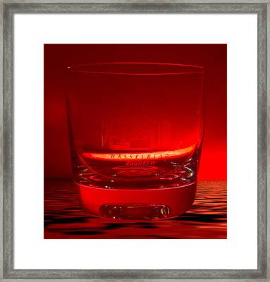 Hasselblad 2000fcw Glass Framed Print by David French
