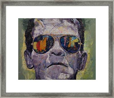 Frankenstein Framed Print by Michael Creese