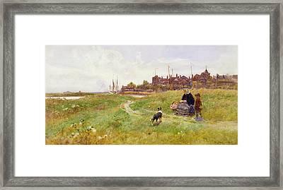 Hastings Framed Print by Thomas James Lloyd
